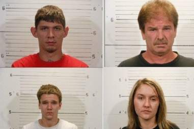 Meth lab suspects