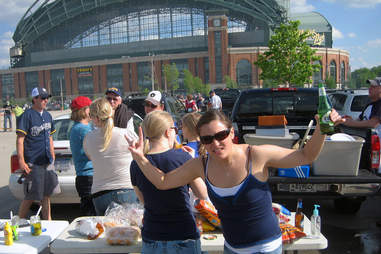 Milwaukee tailgating