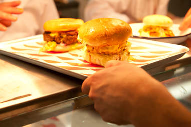 MEATmission burger