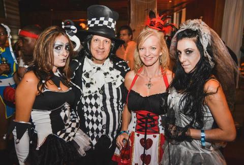 Adult halloween bash strip club photo 180