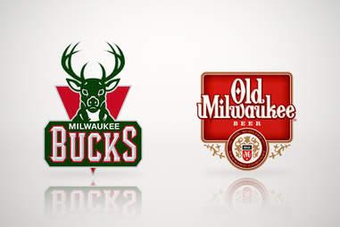 Milwaukee Bucks and Old Milwaukee Beer