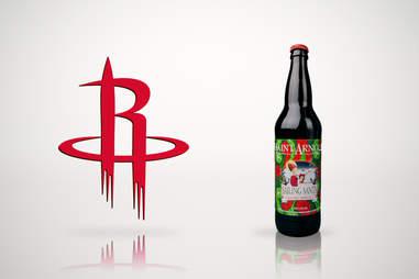 Houston Rockets and Saint Arnold
