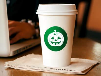 starbucks halloween drink