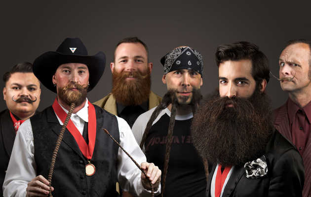 The photos from this year's World Beard & Moustache Championships are amazing