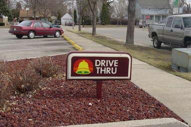 Taco Bell drive-thru