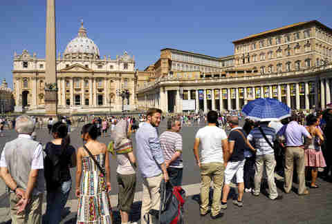 People enjoying a tourist card