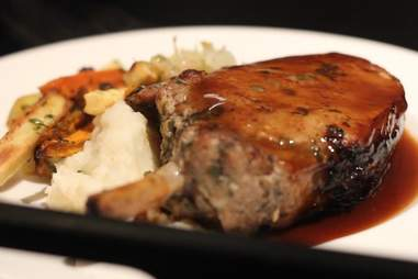 Pork  chop on Lufthansa