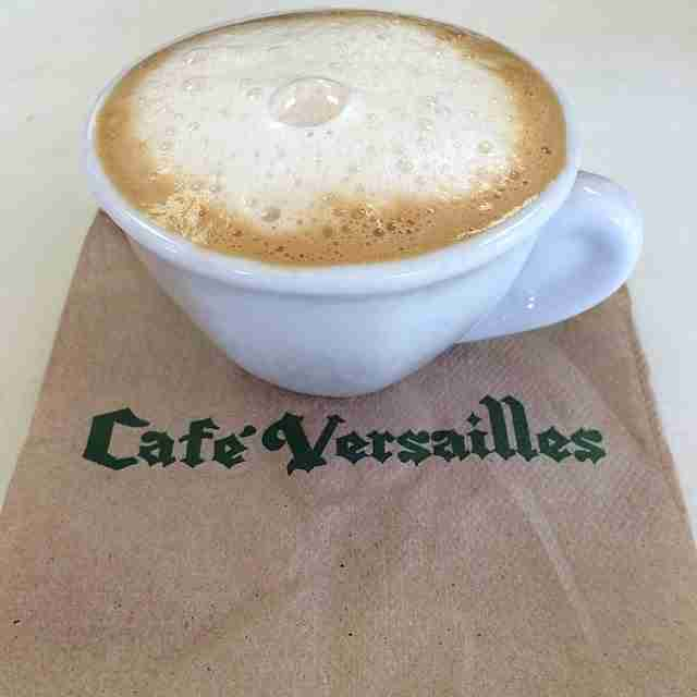 Versailles coffee cup