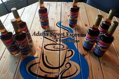 Adams Street Espresso table
