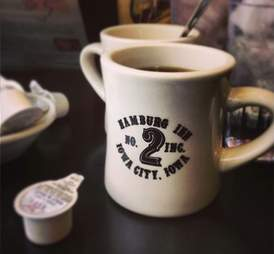 Hamburg Inn No. 2 coffee mug
