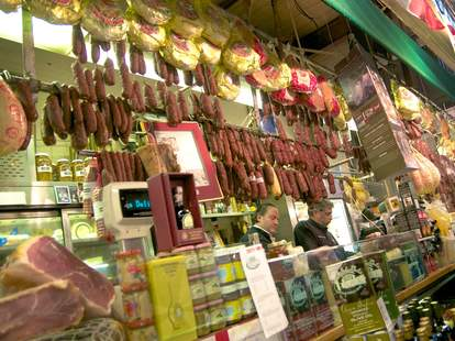 mike's deli cured meats selection