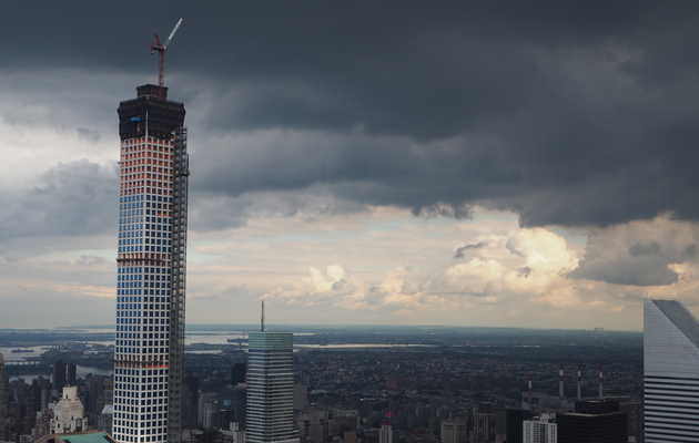What does the view from a $95MM, 1,396ft-high penthouse in NYC look like?