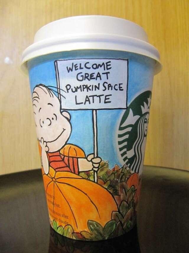 Charlie Brown Pumpkin Spice Latte