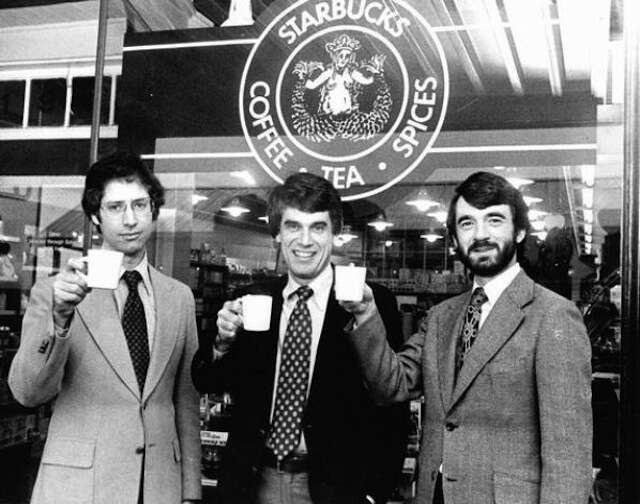 Zev Siegl, Jerry Baldwin, and Gordon Bowker