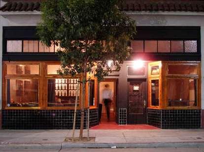 Exterior of Yield Wine Bar in San Francisco, California