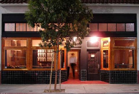 Exterior of Yield Wine Bar in San Francisco, California