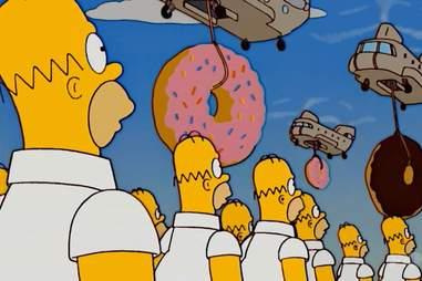 Homer Simpson saying mmm