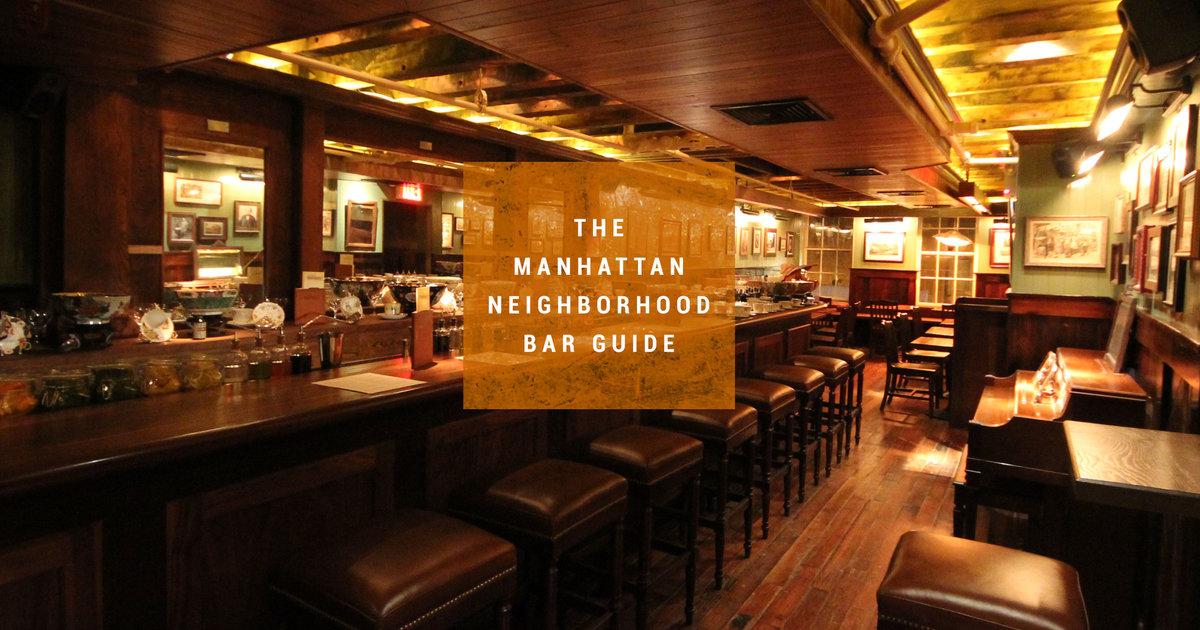 Best Bars In Manhattan, NYC Neighborhoods - Thrillist