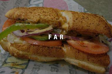 Fargo Airport Subway Sandwich
