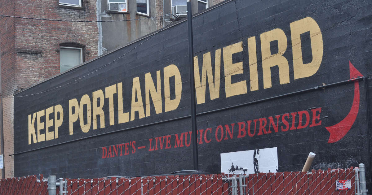 weirdest things in portland keep portland weird thrillist