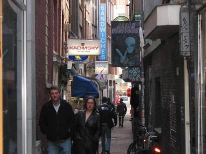 Alien Visitors Amsterdam