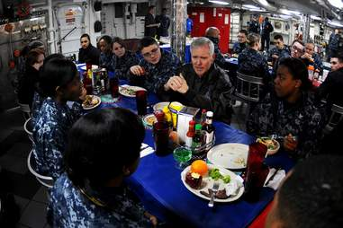 navy meal