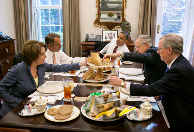 White House Food Presidential Eating