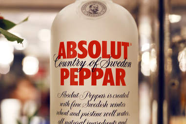 Absolut Peppar bottle