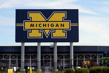 The Big House University of Michigan