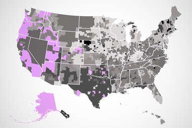 carl's jr. US map
