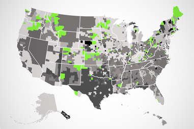 dairy queen US map