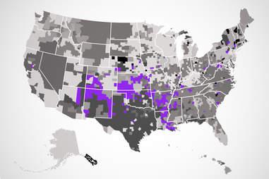 sonic US map