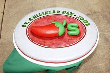 St. ChiliHead Day cake