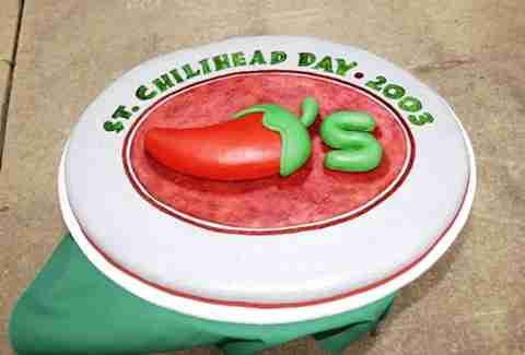 St. ChiliHead Day cake