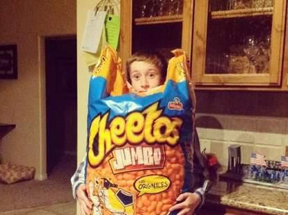 giant cheetos bag