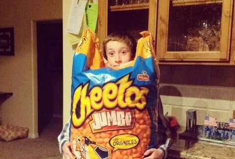 giant cheetos bag