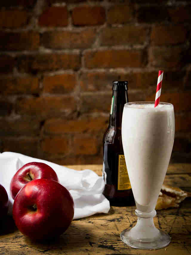 Hard Apple Cider Milkshake — Thrillist Recipes