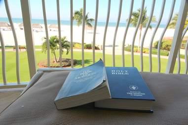 Hotel bibles