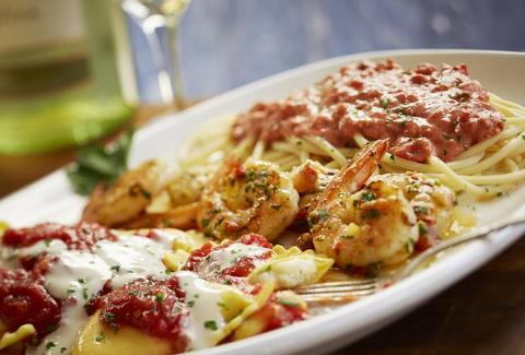 Olive Garden Southern Tour of Italy dish