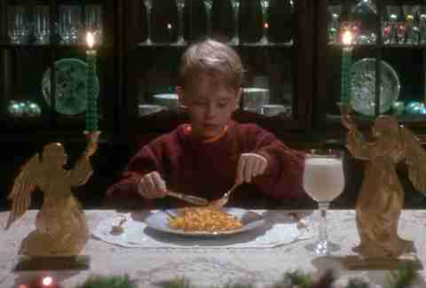 Home Alone mac 'n cheese