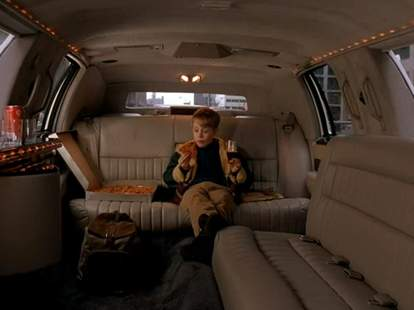 Home Alone 2 limo pizza