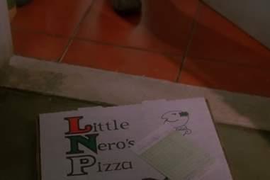 Home Alone pizza