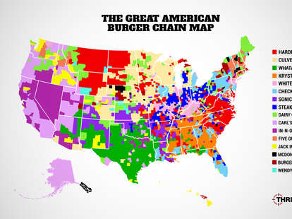 the great american burger chain map Thrillist