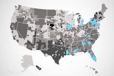 checkers US map