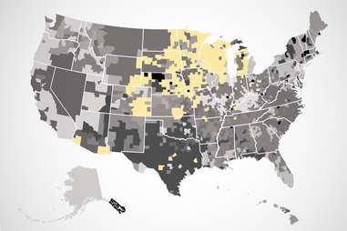 culver's US map