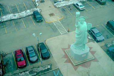 Statue of liberty replica