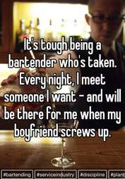Taken bartender