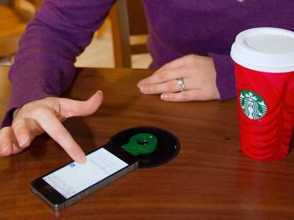 Starbucks wireless chargers