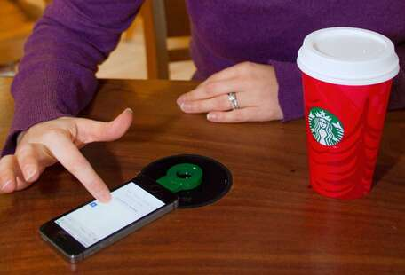 Starbucks now has wireless phone chargers, so you never have to leave