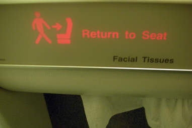 Return to seat